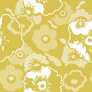 Image of Alice Wallpaper - Mustard