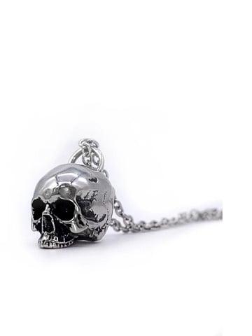 Image of MYSTICUM LUNA Hel Skull Necklace