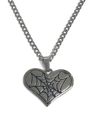 Image of MYSTICUM LUNA Cobweb Necklace