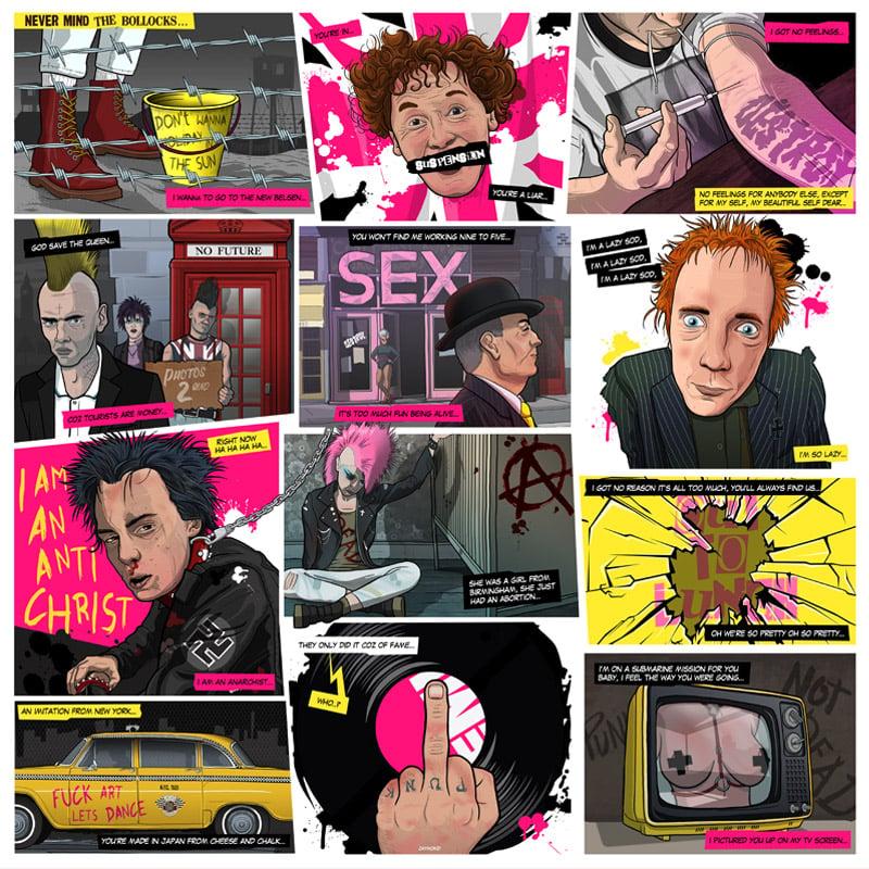 Image of Sex Pistols - Never Mind The Bollocks