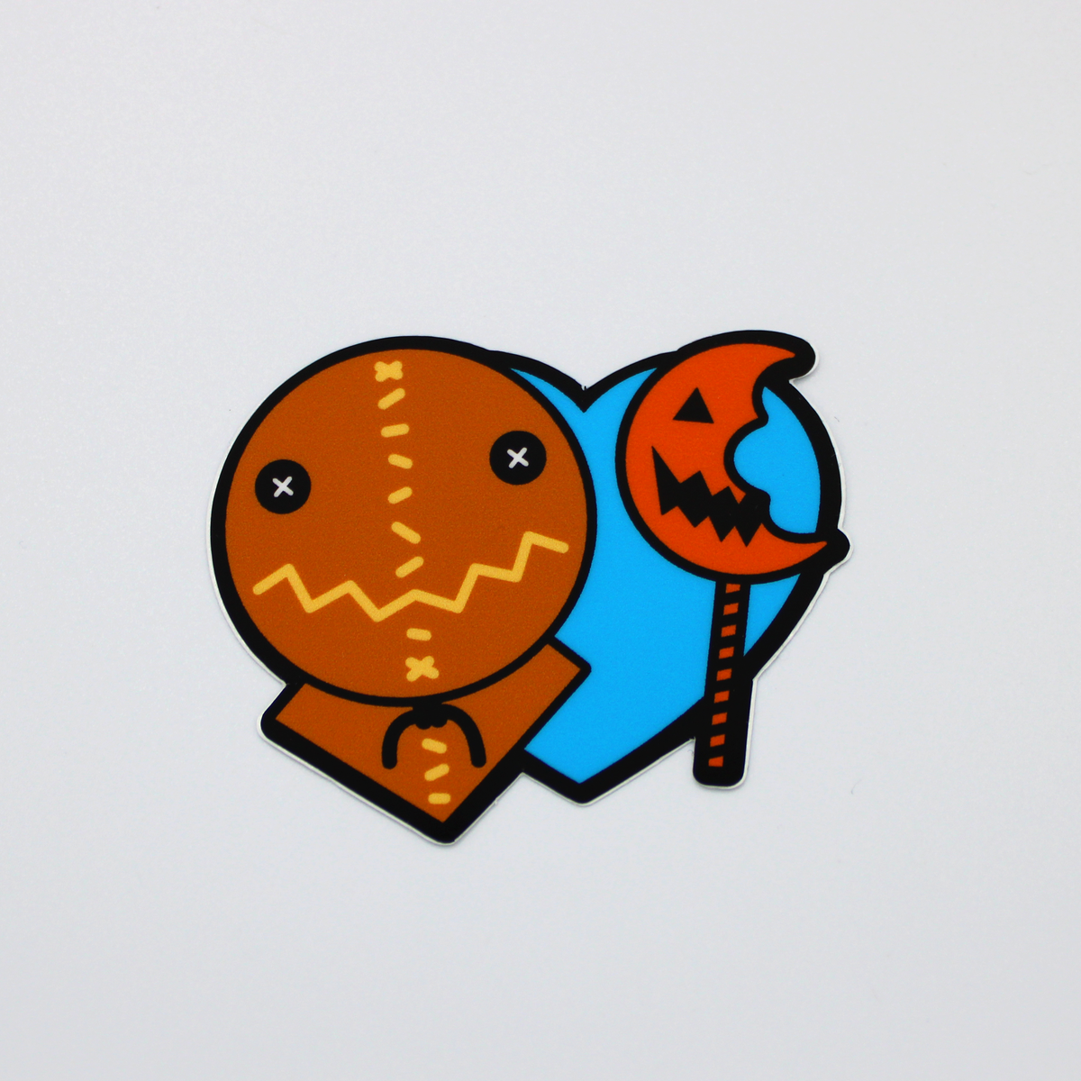Heart Sam Sticker
