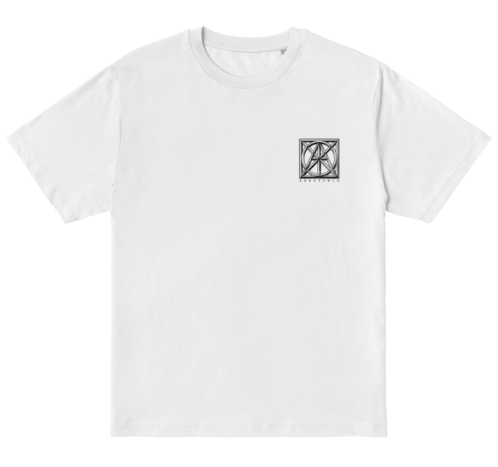 Image of Boxed Fox tee - white