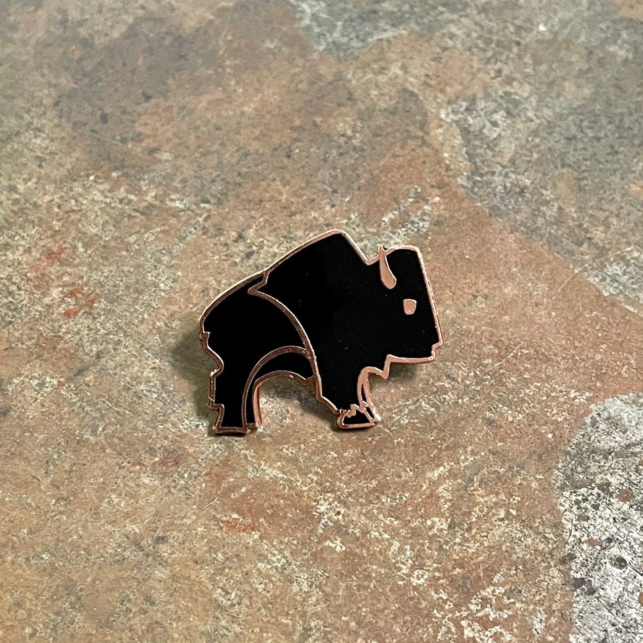 Image of Bison Pin
