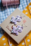 Miracle Earrings - Candy Party - Violette enrobée
