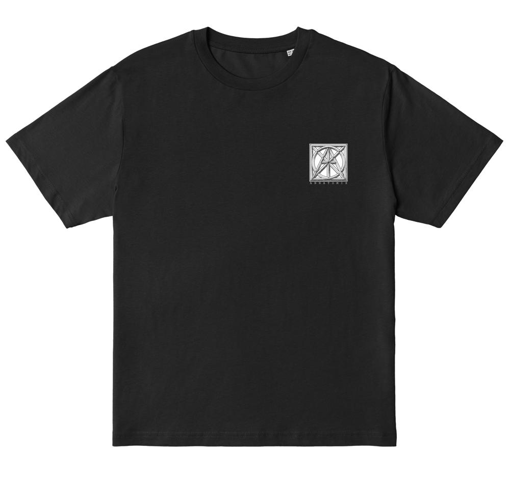 Image of Boxed Fox tee - black