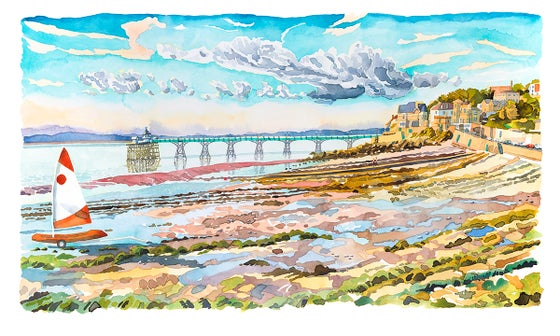 Image of Clouds Over Clevedon Pier