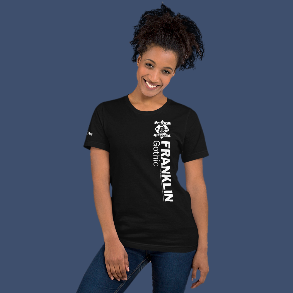 Image of Team Franklin Gothic 1903 -  Short-Sleeve Unisex T-Shirt