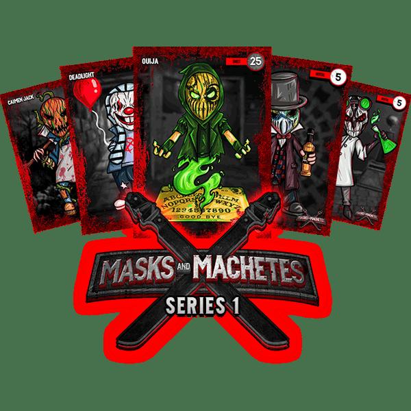 Image of Masks & Machetes - Card Series #1