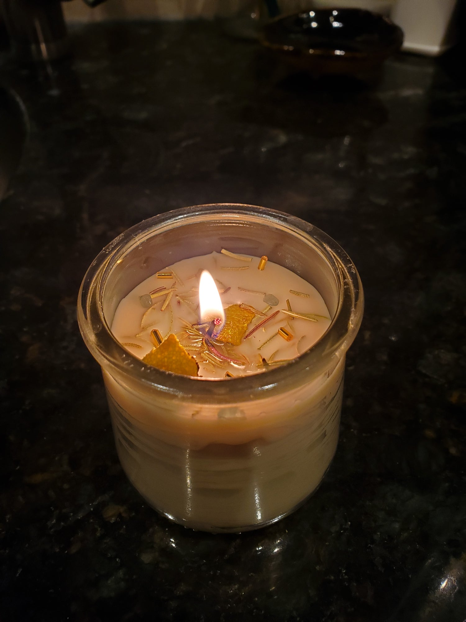 Image of Personal Growth Ritual Candle Eucalyptus Scent
