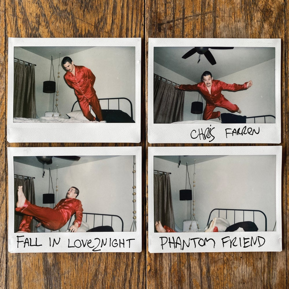 "Image of CHRIS FARREN - FALLINLOVE2NIGHT/PHANTOM FRIEND 7"""