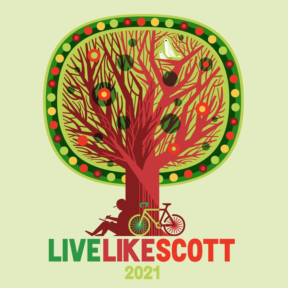 Image of Live Like Scott 2021 Virtual Event Multi Color T-Shirt