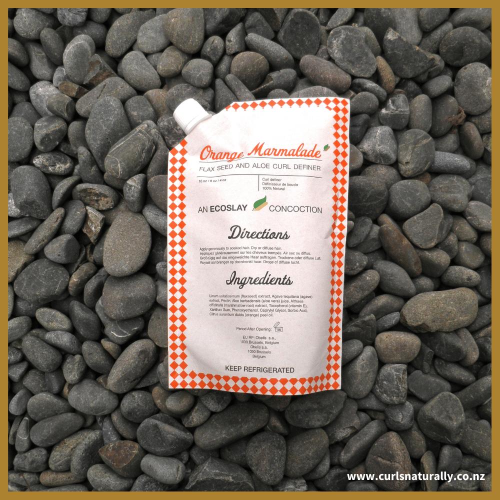 Image of Ecoslay 'Orange Marmalade' Flax Seed and Aloe Curl Definer
