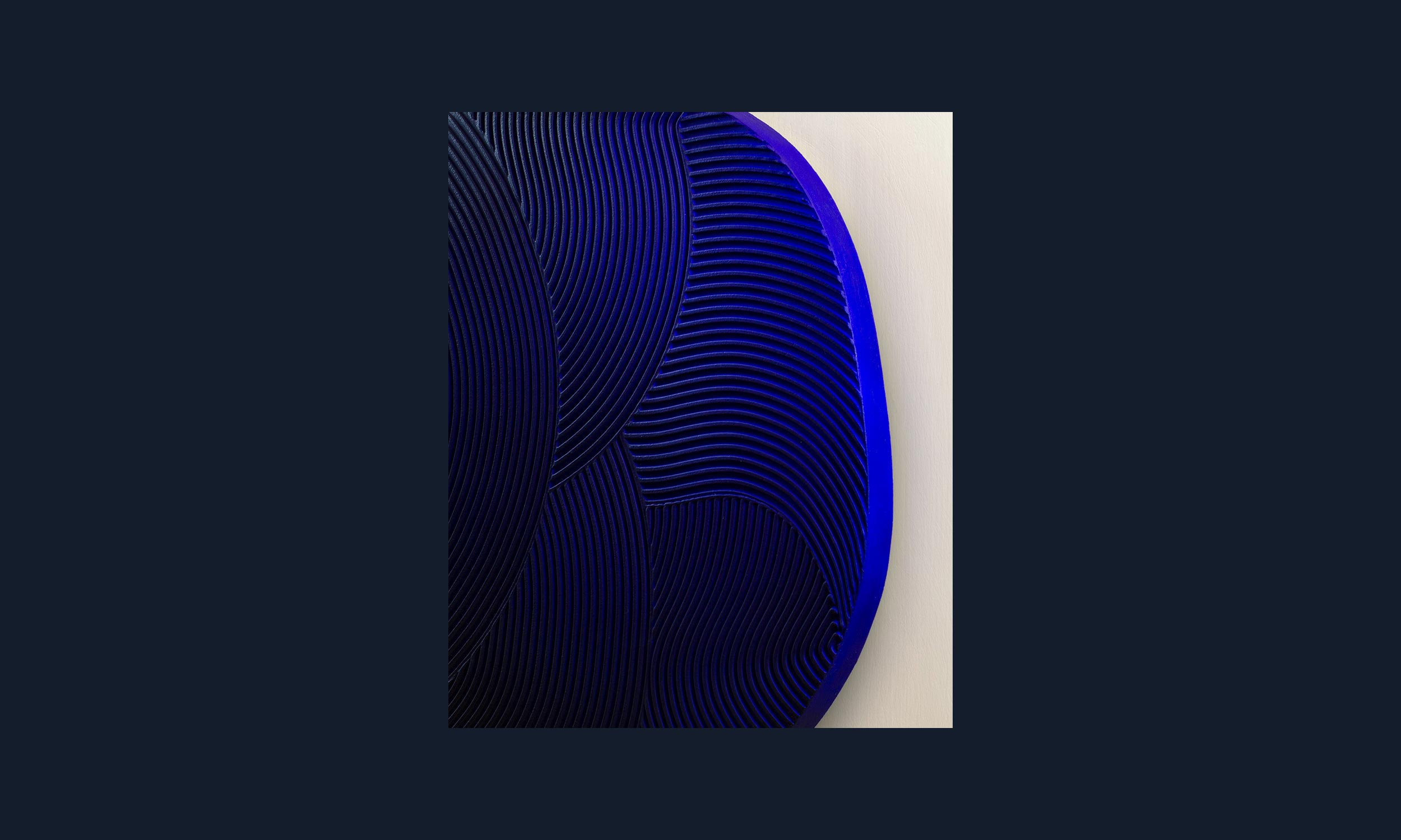 Image of Melt Relief · Blue No. 1 (sold out)