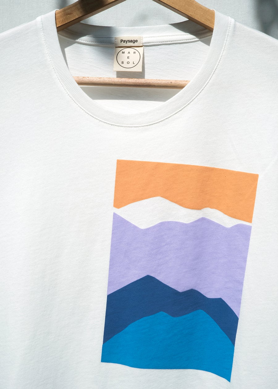 Image of TEE-SHIRT (HOMME) PAYSAGE édition limitée