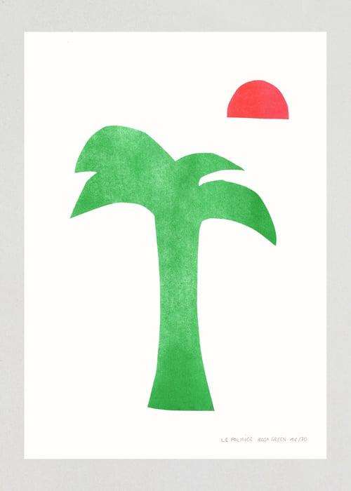 "Image of Illustration ""LE PALMIER"", A3"