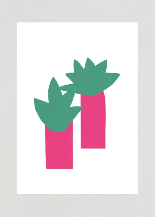 "Image of Illustration ""PALMIERS"", A3 ORIGINAL"