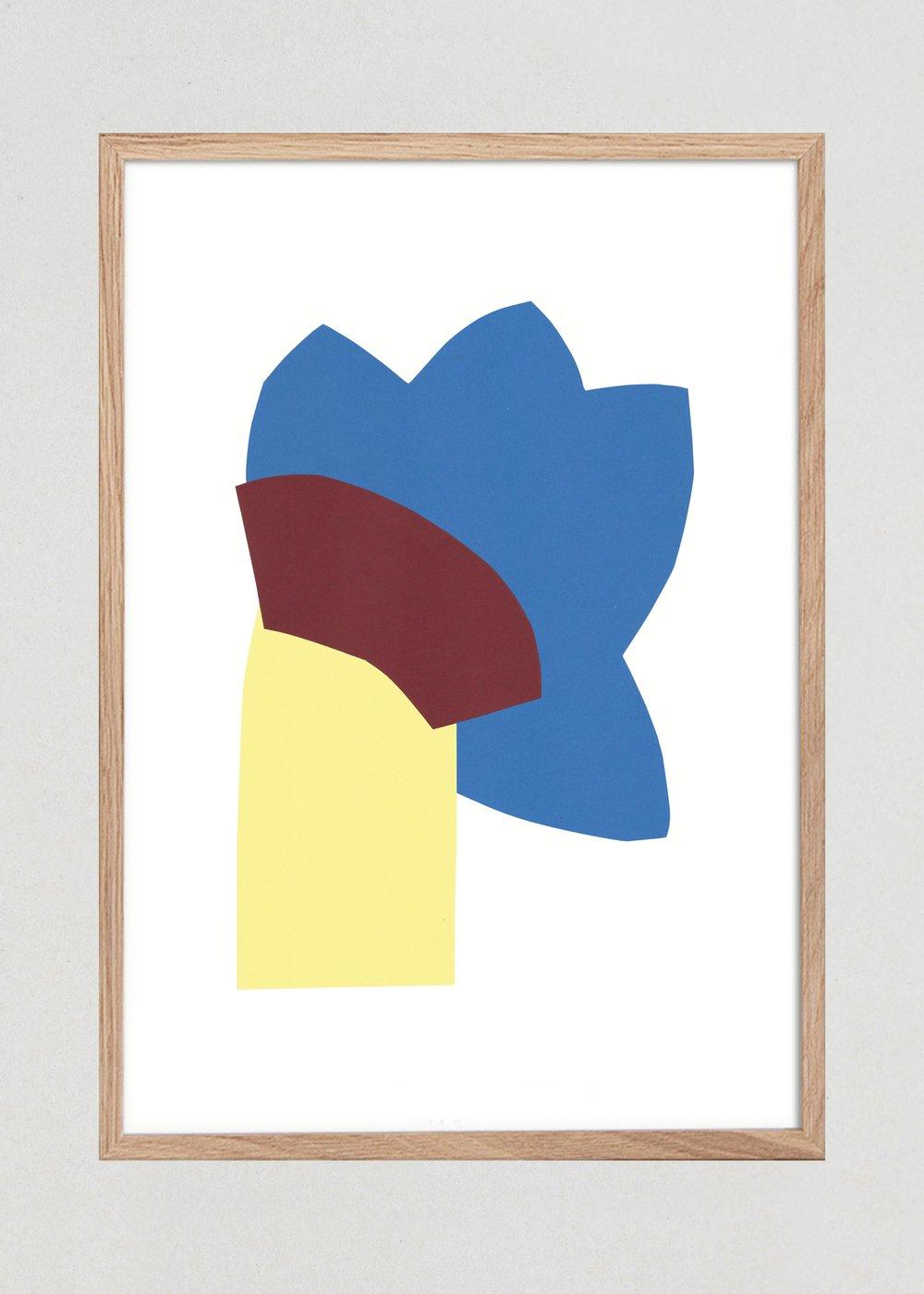 """Image of Illustration """"FLEUR"""", A3 ORIGINAL"""