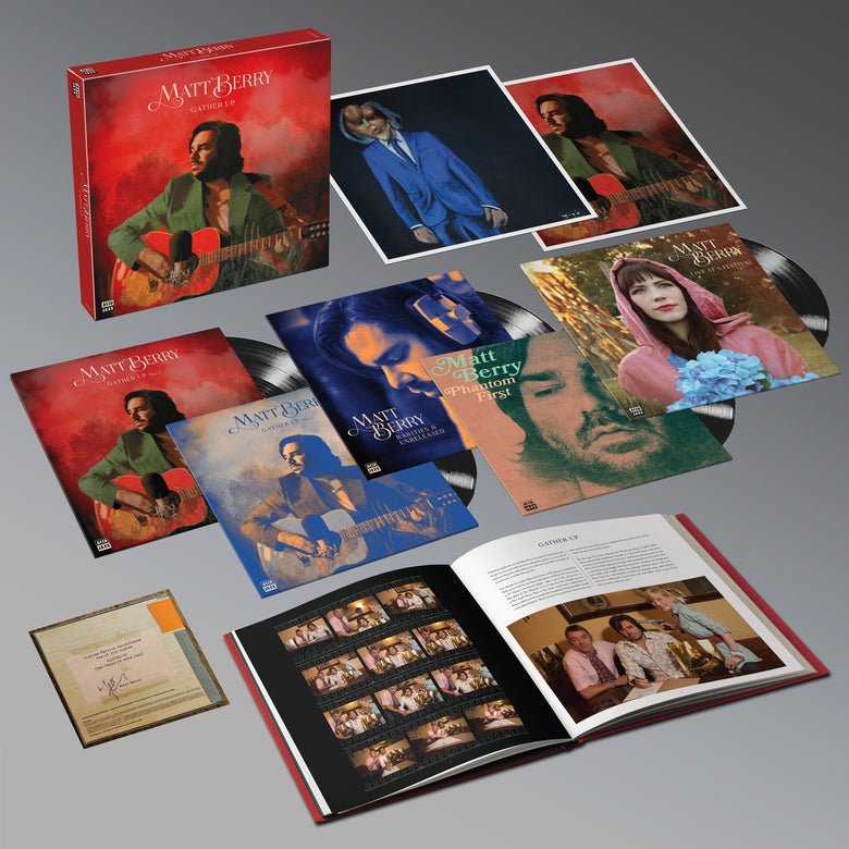 Image of Matt Berry - 'Gather Up' - Limited Edition 5LP Boxset (PRE-ORDER)
