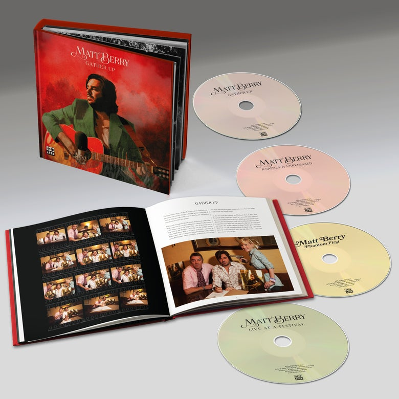 Image of Matt Berry 'Gather Up' - Limited Edition 4CD Hardback Book Box w/ 24 Page Booklet (PRE-ORDER)