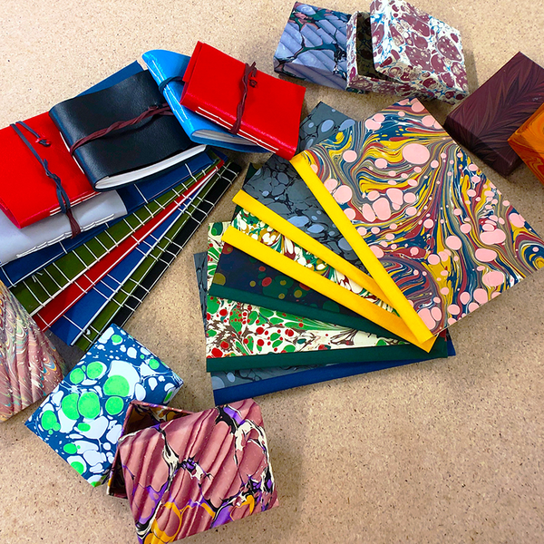 Image of Bookbinding for Beginners - Course 1 - ONLINE - 9th October (6 - 9pm)