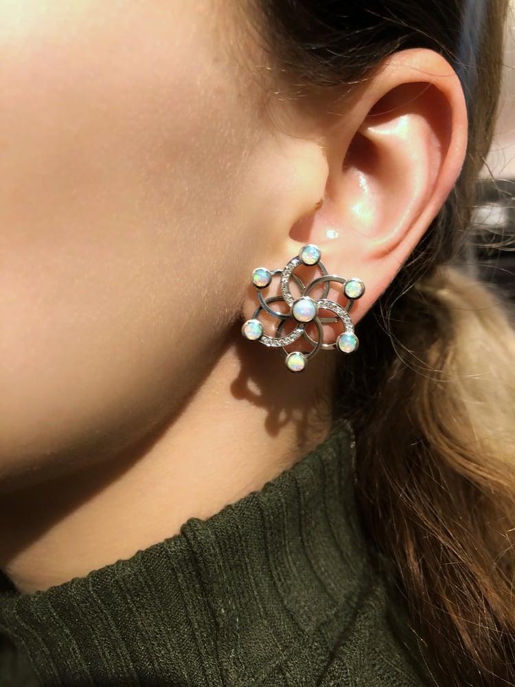 Image of Iris Nebula Earrings