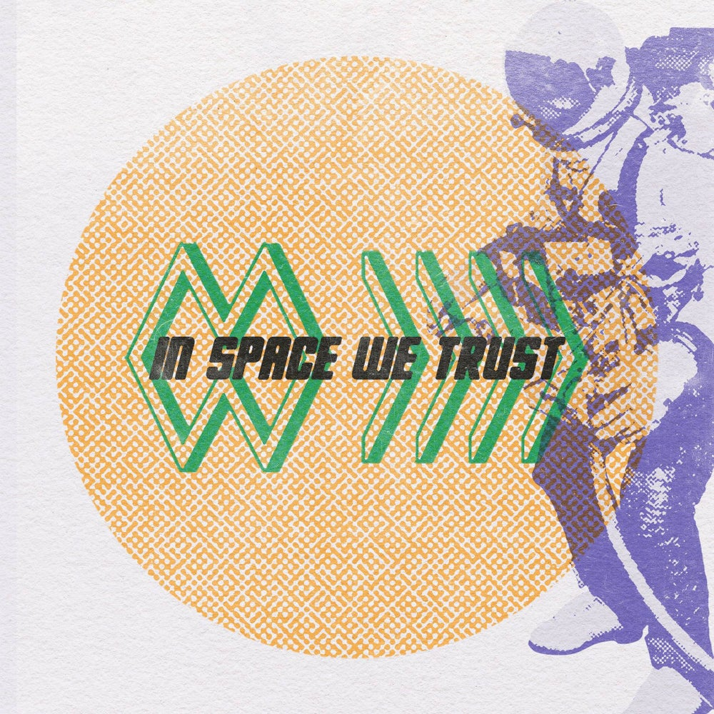 The Band Whose Name Is A Symbol - In Space We Trust (Sam Giles CDr edition) Cardinal Fuzz