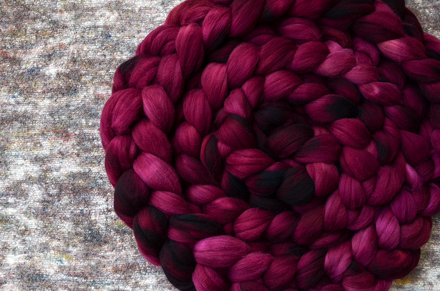 """Image of """"Wizened Aster"""" August Fiber Club Coordinate- PRE-ORDER - 4 oz."""