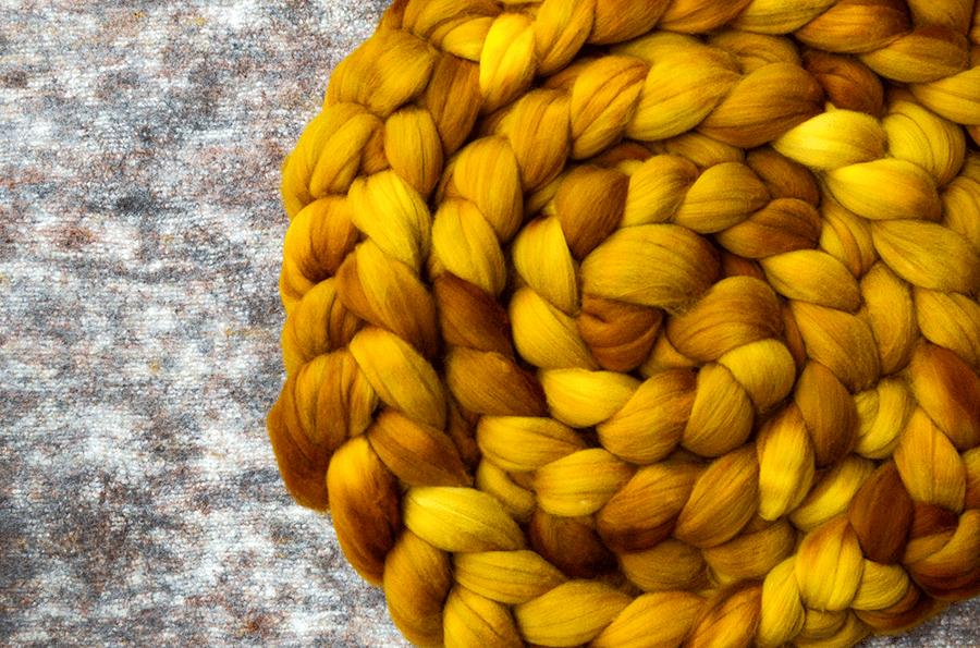 "Image of ""Leaves Make Sugar"" August Fiber Club Coordinate- PRE-ORDER - 4 oz."