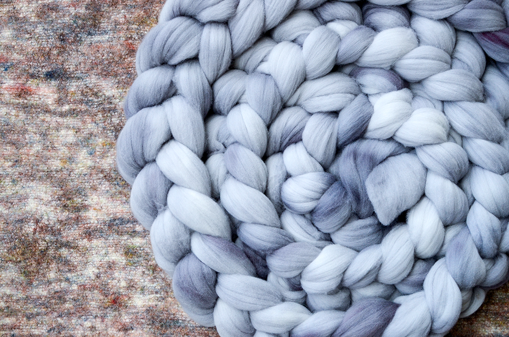 """Image of """"Ghost Orchid"""" August Fiber Club Coordinate- PRE-ORDER - 4 oz."""