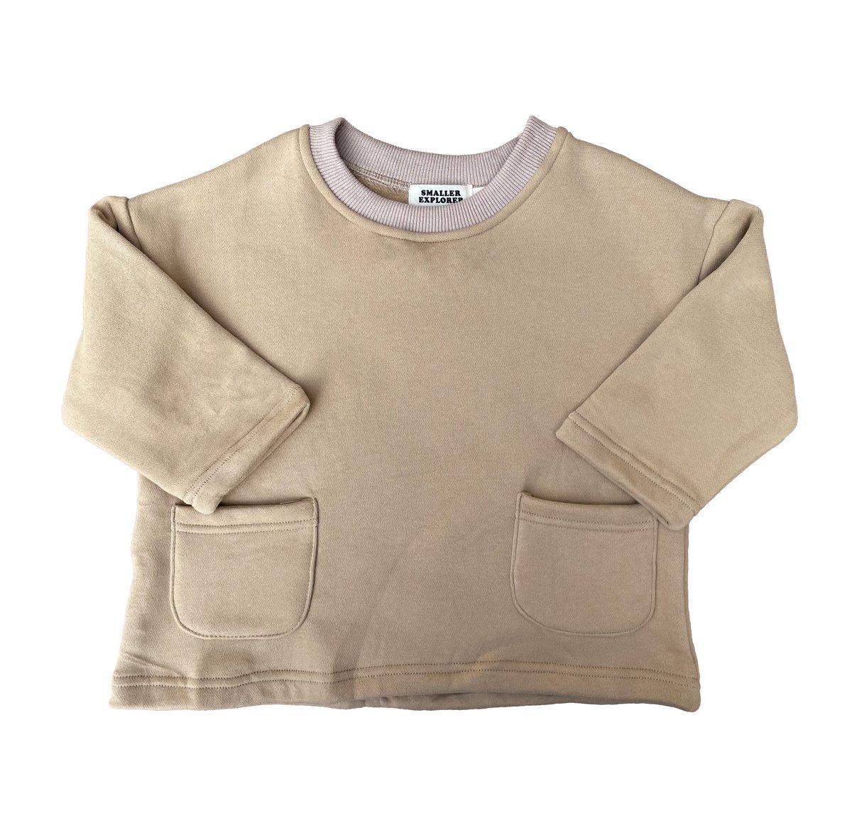 Image of Retro Sweatshirt - Sand