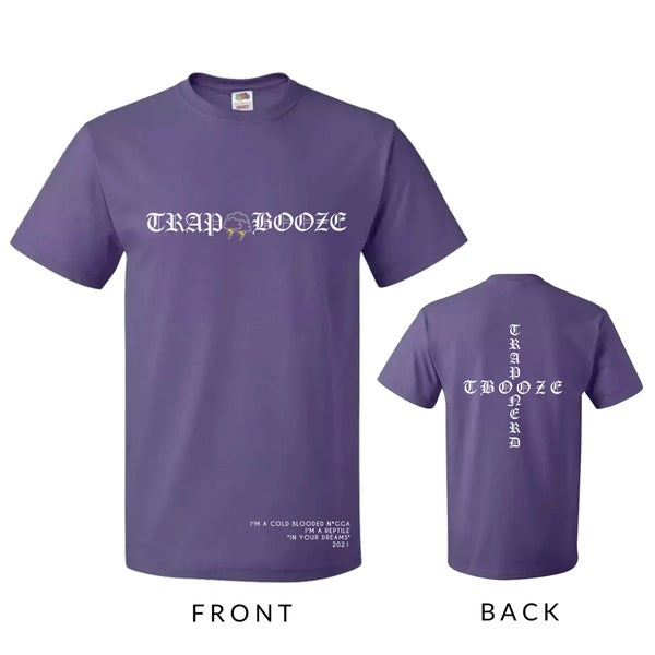 Image of Violet TRAPxBOOZE Collab Tees