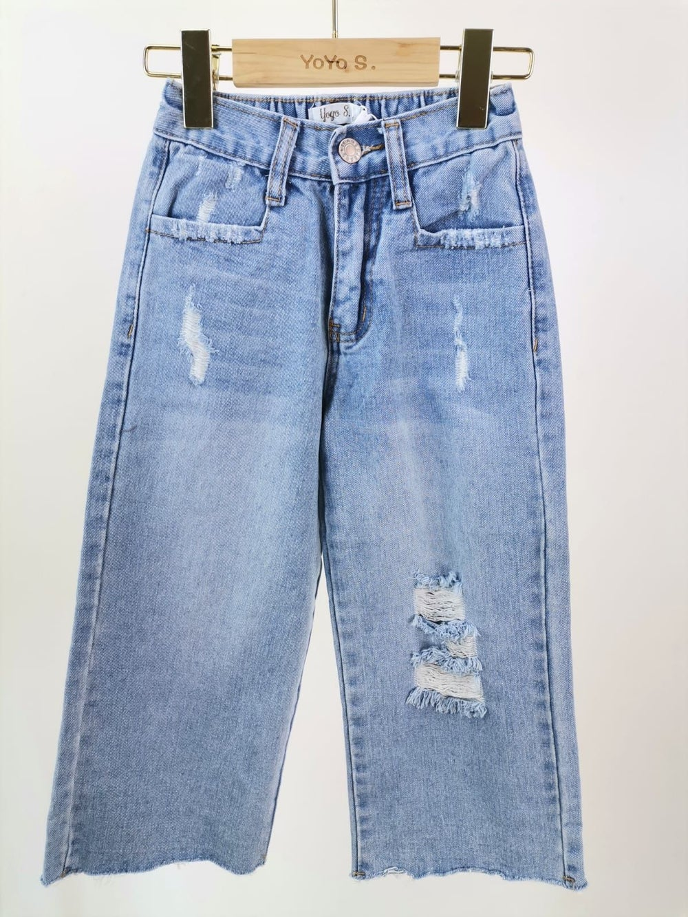 Image of Mom Wide Leg Jeans