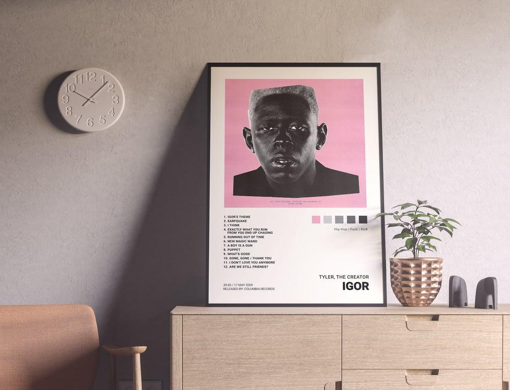 Tyler, the Creator - Igor Album Cover Poster