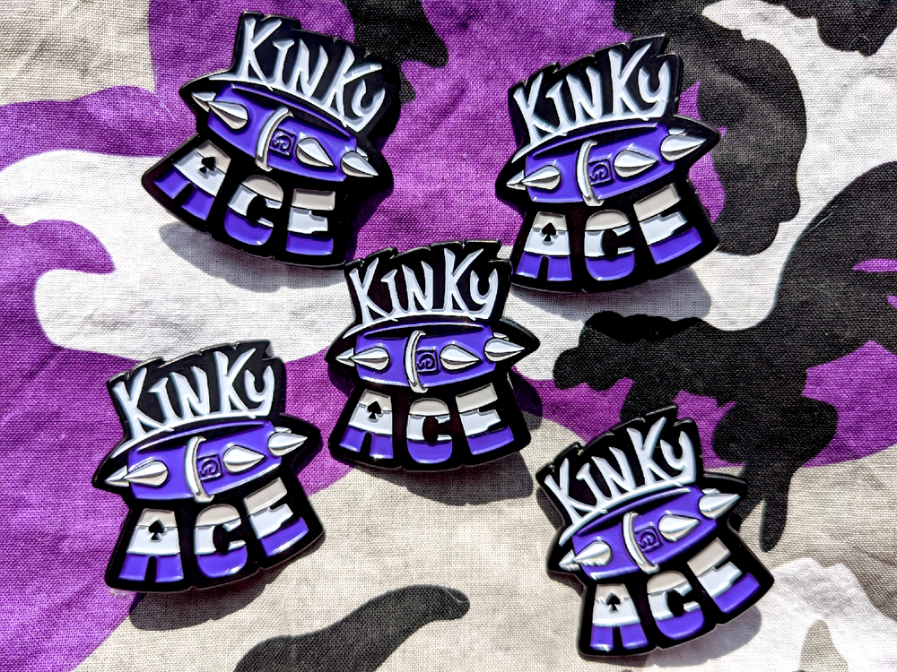 Image of Kinky Ace Pin