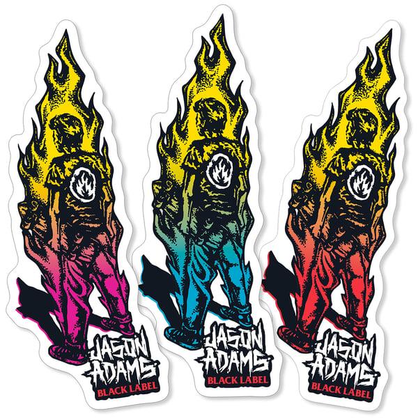 "Image of ""Jason Adams"" Sticker"
