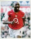 Patrick Vieira Signed Arsenal 10x8