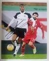 Tosin Adarabioyo Signed Fulham 10x8