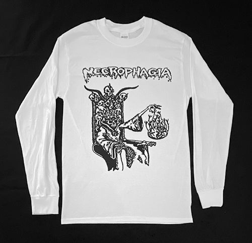 """Image of Necrophagia """" Rise From The Crypt """" Long Sleeve T shirt"""