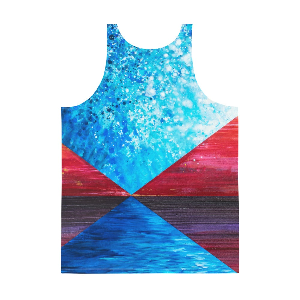 """Image of Tank Top - """"The Universe Always Votes for the Wrong Human"""