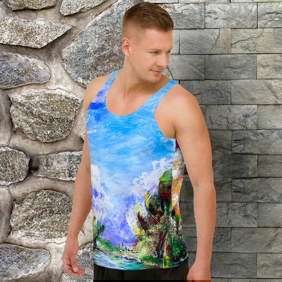 """Image of Tank Top - """"The Time Is Always Right Out Here"""""""