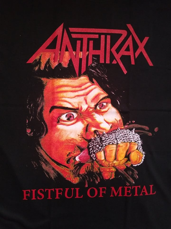 ANTHRAX FISTFUL OF STEEL T-SHIRT