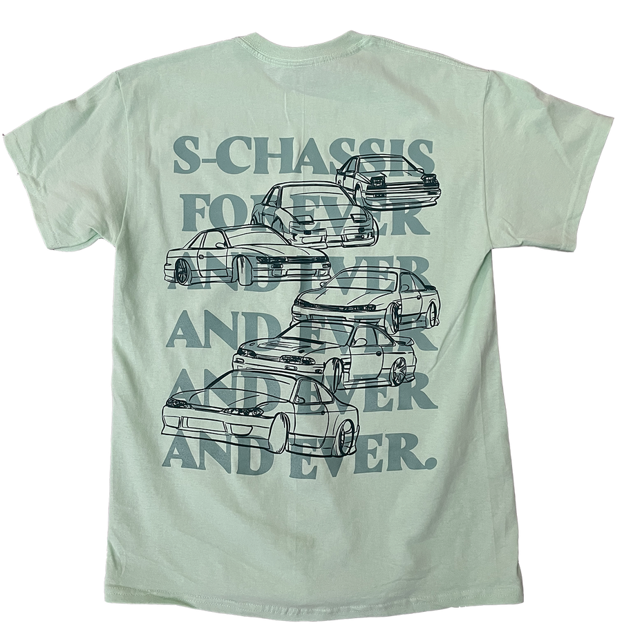 Image of S-Chassis Forever and Ever Tee Mint