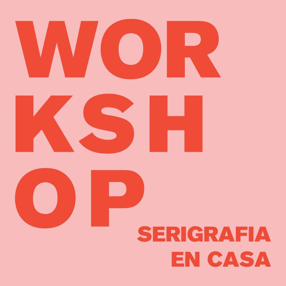 Image of SERIGRAFÍA EN CASA