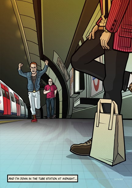 Image of The Jam - Down In The Tube Station At Midnight
