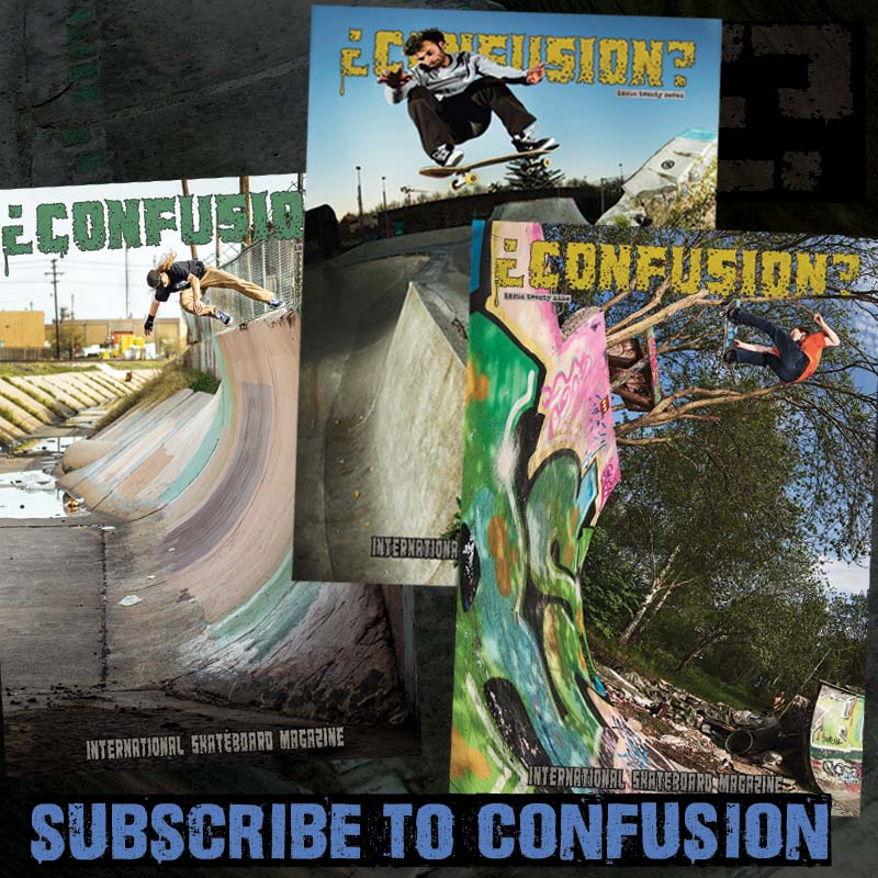 Image of Confusion Magazine - Shop Subscription