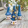 Magical Sky Mini House with Eight Stars and Moon