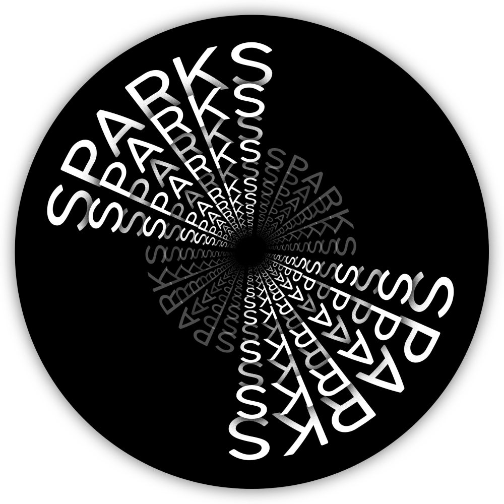 Image of Sparks Large Button Badge