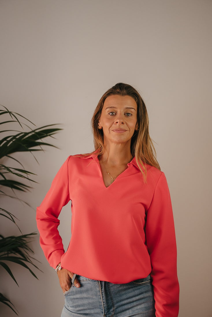 Image of Blusa CHACEL - Coral