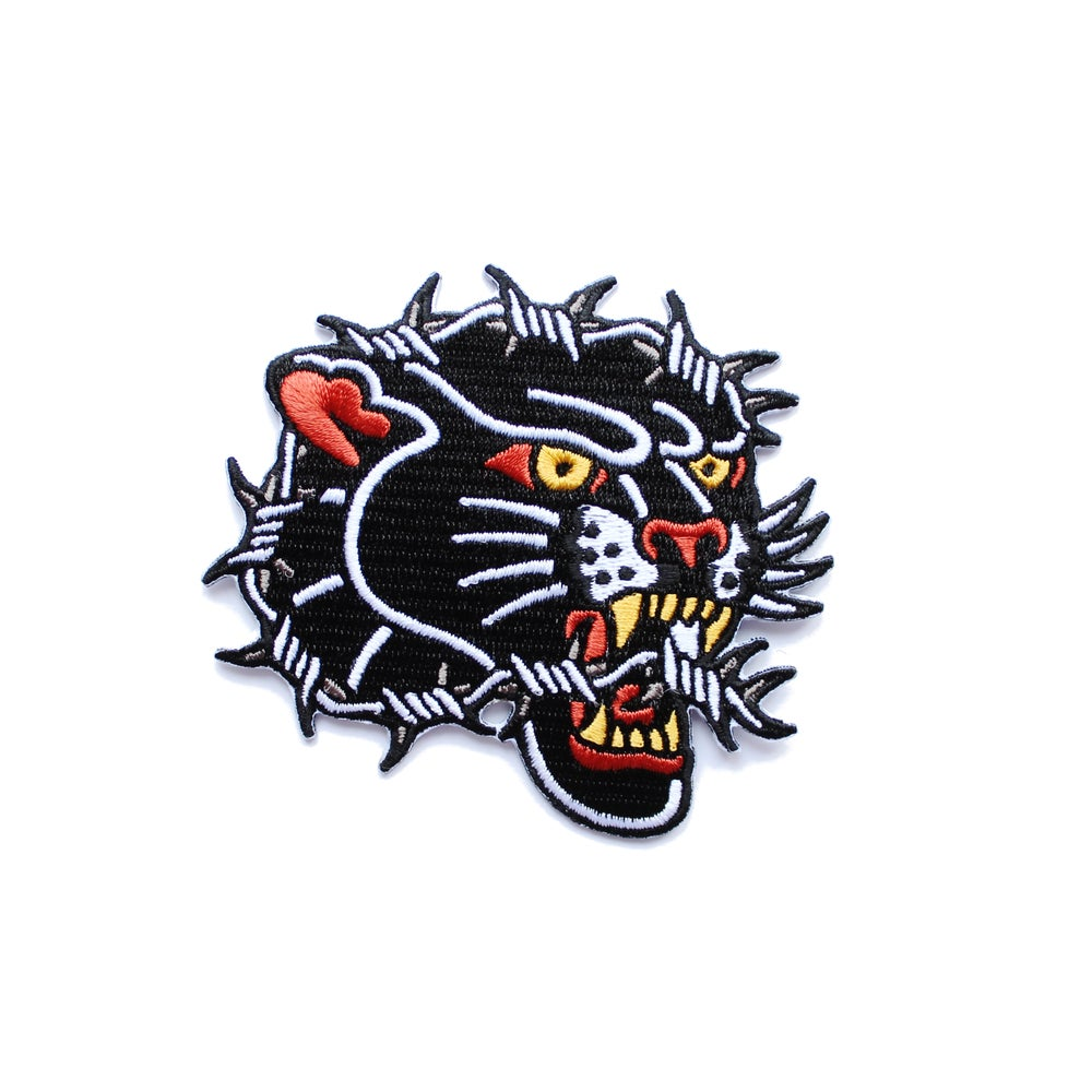 Image of Barbed Panther Tattoo Patch
