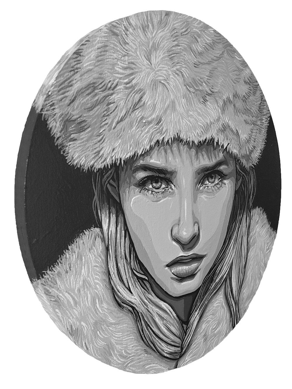 Extra Shady Edition: Cossack - Original Painting